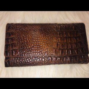Beautiful Brahmin leather wallet
